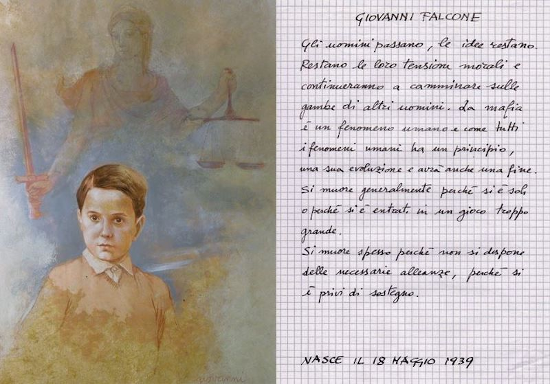 Giovanni Falcone Grandi Del Novecento